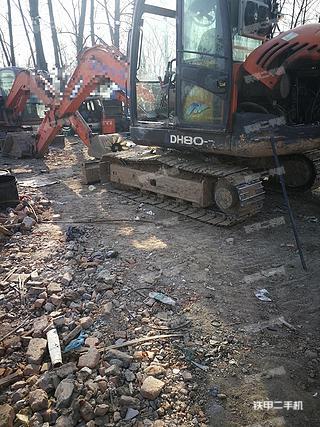 斗山DH80挖掘机