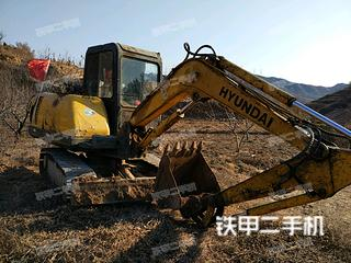 现代R55i挖掘机