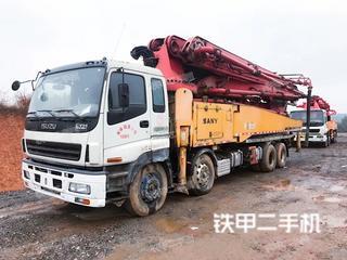 三一重工SY5418THB52II泵車實拍圖片