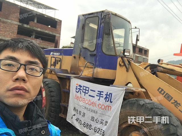 福建龙岩市龙工LG833装载机