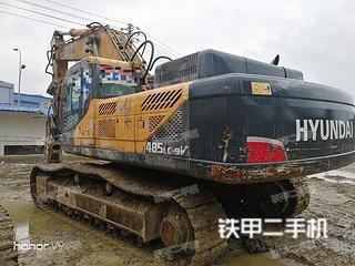 现代R485LC-9V挖掘机
