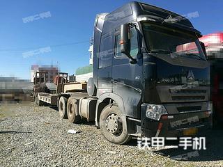 中国重汽8X4拖车