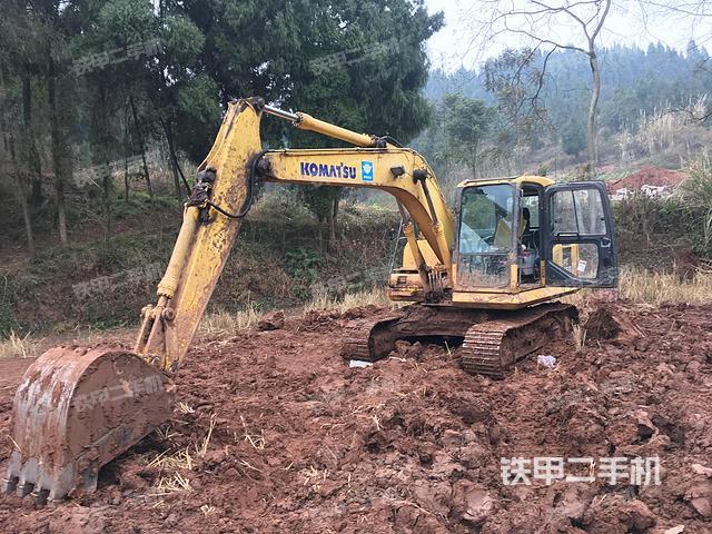 四川遂宁市小松PC130-7挖掘机
