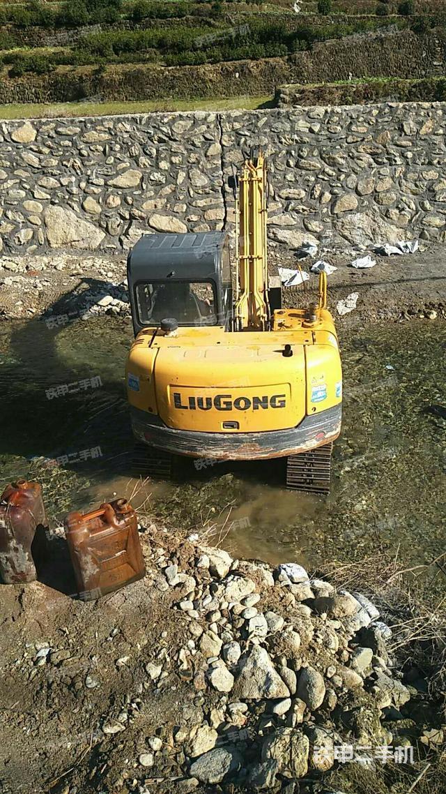安徽安庆市柳工CLG908DN挖掘机