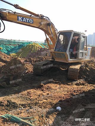 加藤HD450VII挖掘机