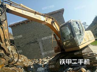 柳工CLG915D挖掘机
