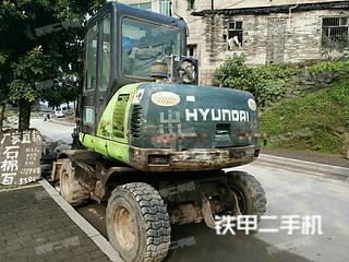 现代R60W-5挖掘机