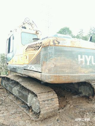 现代R275LC-9V挖掘机