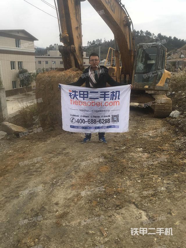 贵州黔南布依族苗族自治州玉柴YC230LC-8挖掘机