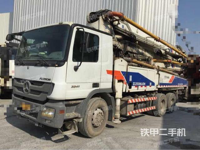 安徽蚌埠市中联重科ZLJ5336THB47X-5RZ泵车