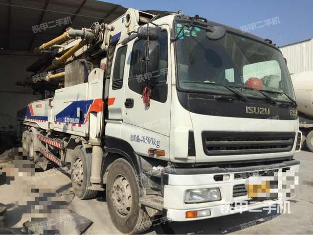 安徽蚌埠市中联重科ZLJ5417THB48X-6RZ泵车