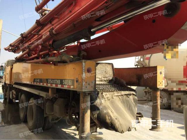 安徽蚌埠市三一重工SY5418THB56II泵车