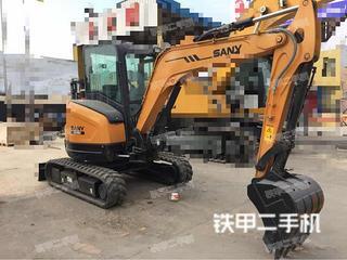 三一重工SY35U挖掘机