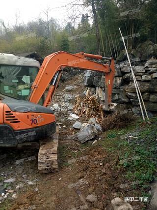 日立ZX55UR挖掘机
