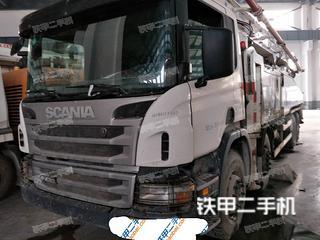 陕西-宝鸡市二手中联重科ZLJ5430THBK56X-6RZ泵车实拍照片