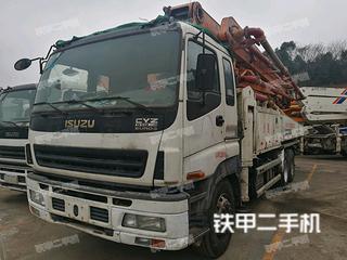 湖南-长沙市二手中联重科ZLJ5420THB125-47泵车实拍照片