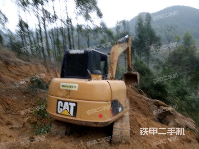 广西百色市卡特彼勒306挖掘机