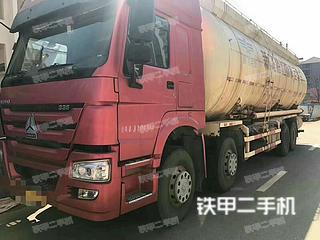 中国重汽ZZ5256GJBV404MD1搅拌运输车