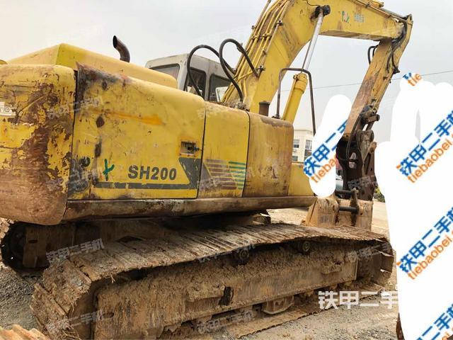 云南文山壮族苗族自治州住友SH200A2挖掘机