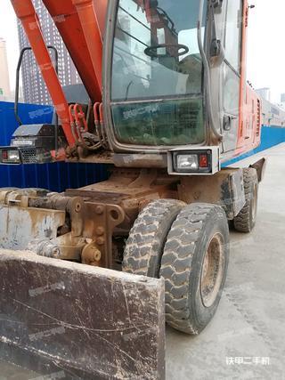 日立ZX210W-3进口挖掘机