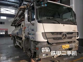 陕西-汉中市二手中联重科ZLJ5420THB125-47泵车实拍照片