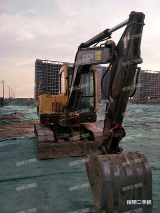 沃尔沃EC55B挖掘机