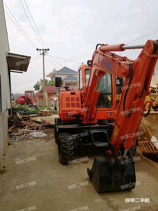 新源85-8T挖掘机