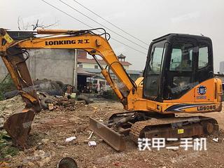 龙工LG6065挖掘机