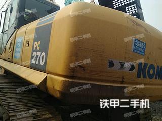 小松PC270-7挖掘机