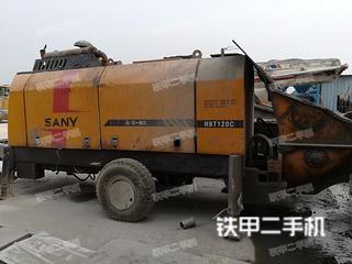 三一重工HBT9050CH-5D拖泵