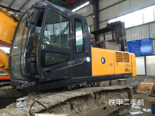 江苏常州市现代R455LC-7挖掘机