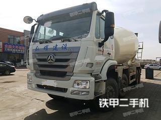 中国重汽ZZ5317GJBN326HD1搅拌运输车