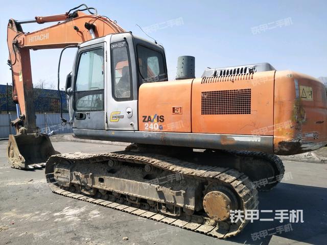 宁夏石嘴山市日立ZX240-3G国产挖掘机