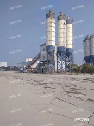 鸿达建工HZS180混凝土搅拌站