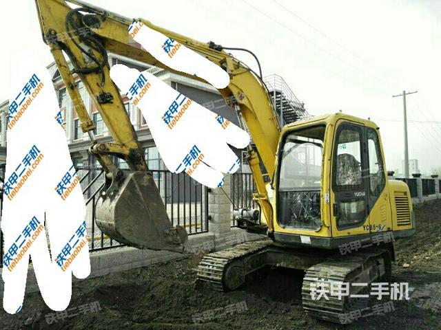 吉林松原市玉柴YC85-6挖掘机