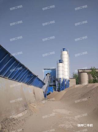 仕高玛HLS60混凝土搅拌站