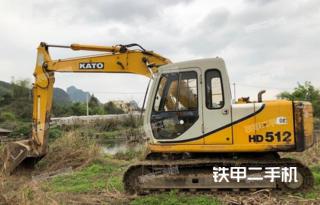 加藤HD512E挖掘机