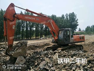 日立ZX350H-3G进口挖掘机