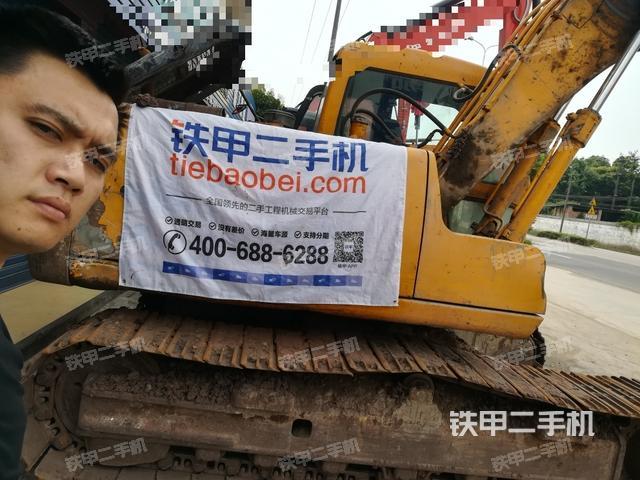四川乐山市现代R130-5挖掘机