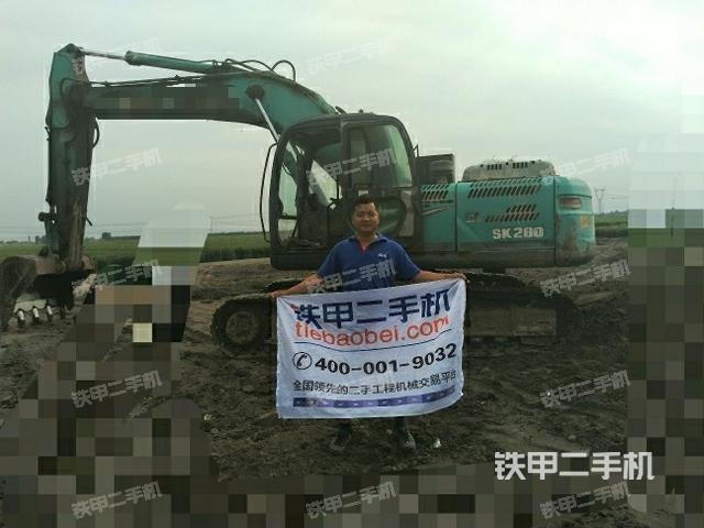 山东淄博市神钢SK210LC-8挖掘机