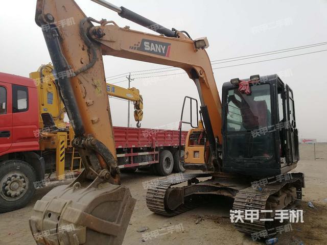 青海海西蒙古族藏族自治州三一重工SY75C-9挖掘机