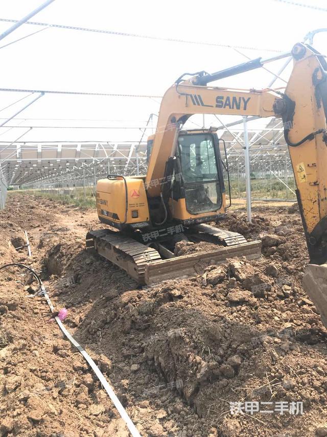 江苏连云港市三一重工SY75C-8挖掘机