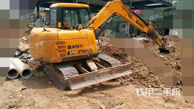 四川广元市三一重工SY75C-8挖掘机