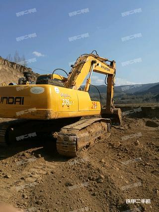 现代305LVS挖掘机