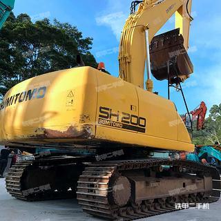 住友SH200-5挖掘机