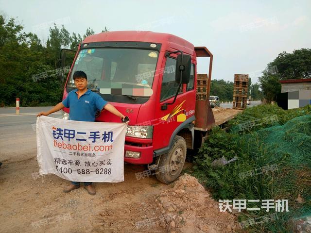河南鹤壁市一汽解放4x2拖车