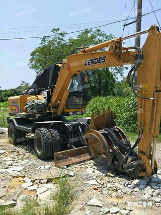 恒特重工HTL90挖掘机