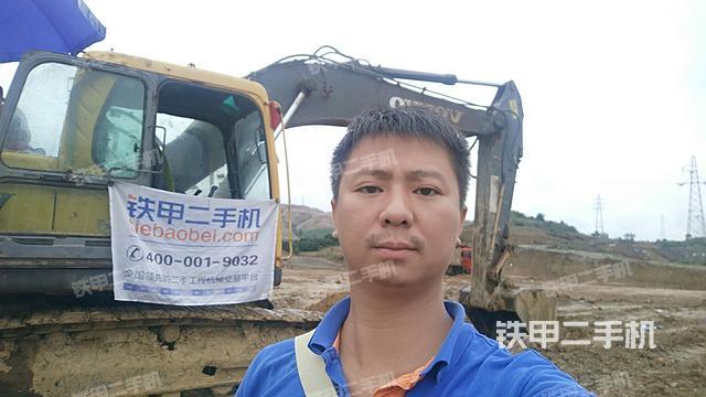 四川攀枝花市沃尔沃EC210B挖掘机