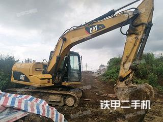 保山卡特彼勒312D挖掘機實拍圖片