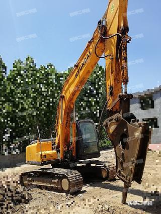 现代R215-7挖掘机